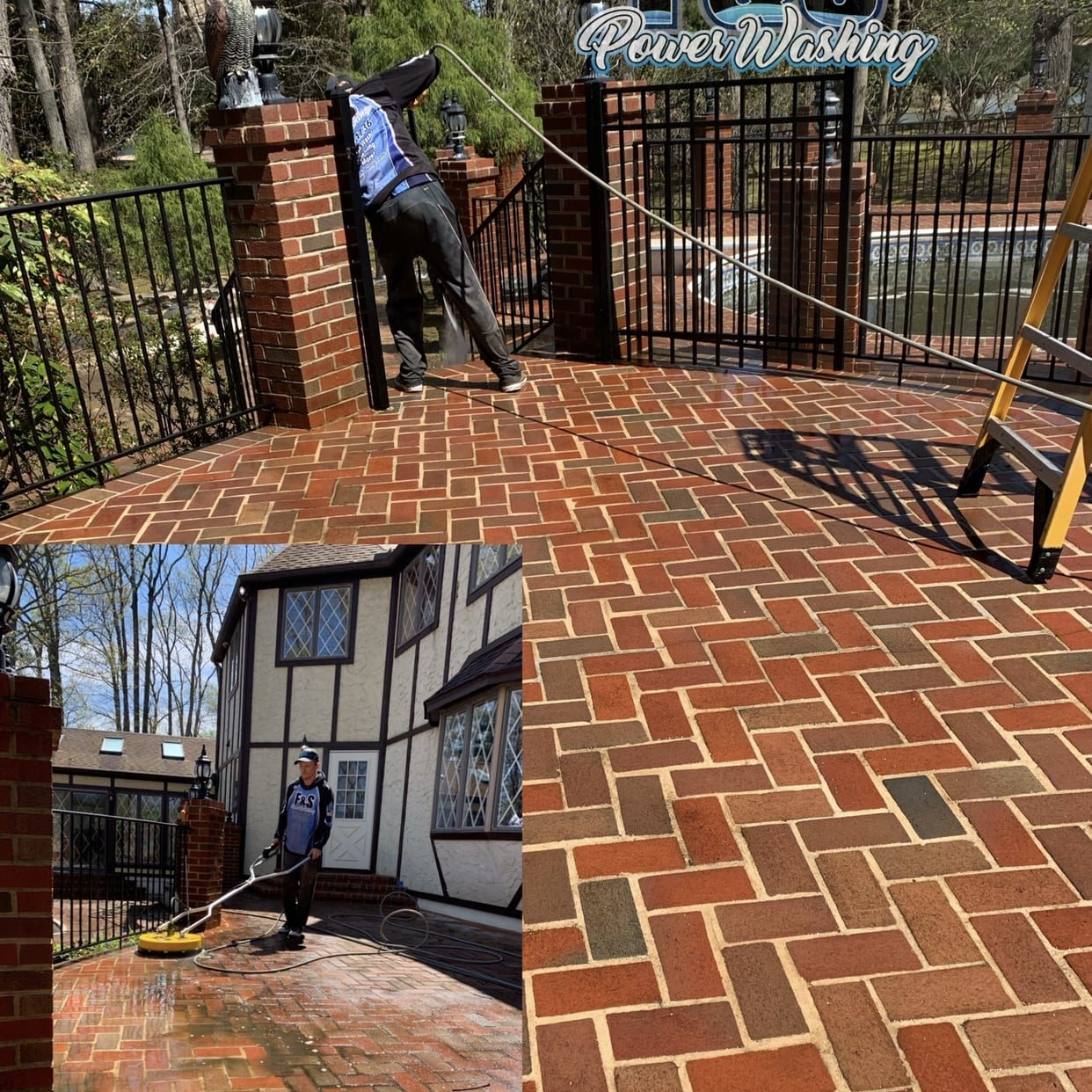 At F&S Power Washing, we don't take a one-size-fits-all approach to paver cleaning. We like to make custom plans for each project. After all, the right way to clean pavers depends on things like how dirty the surface is and what material the pavers are made of. When we evaluate your paver cleaning needs, we can determine the right amount of pressure to remove dirt, mold, and fungi. We don't want to use too much water pressure because it could damage your pavers. We aim to get the perfect level to revitalize your pavers, making them as attractive as the day they were installed.