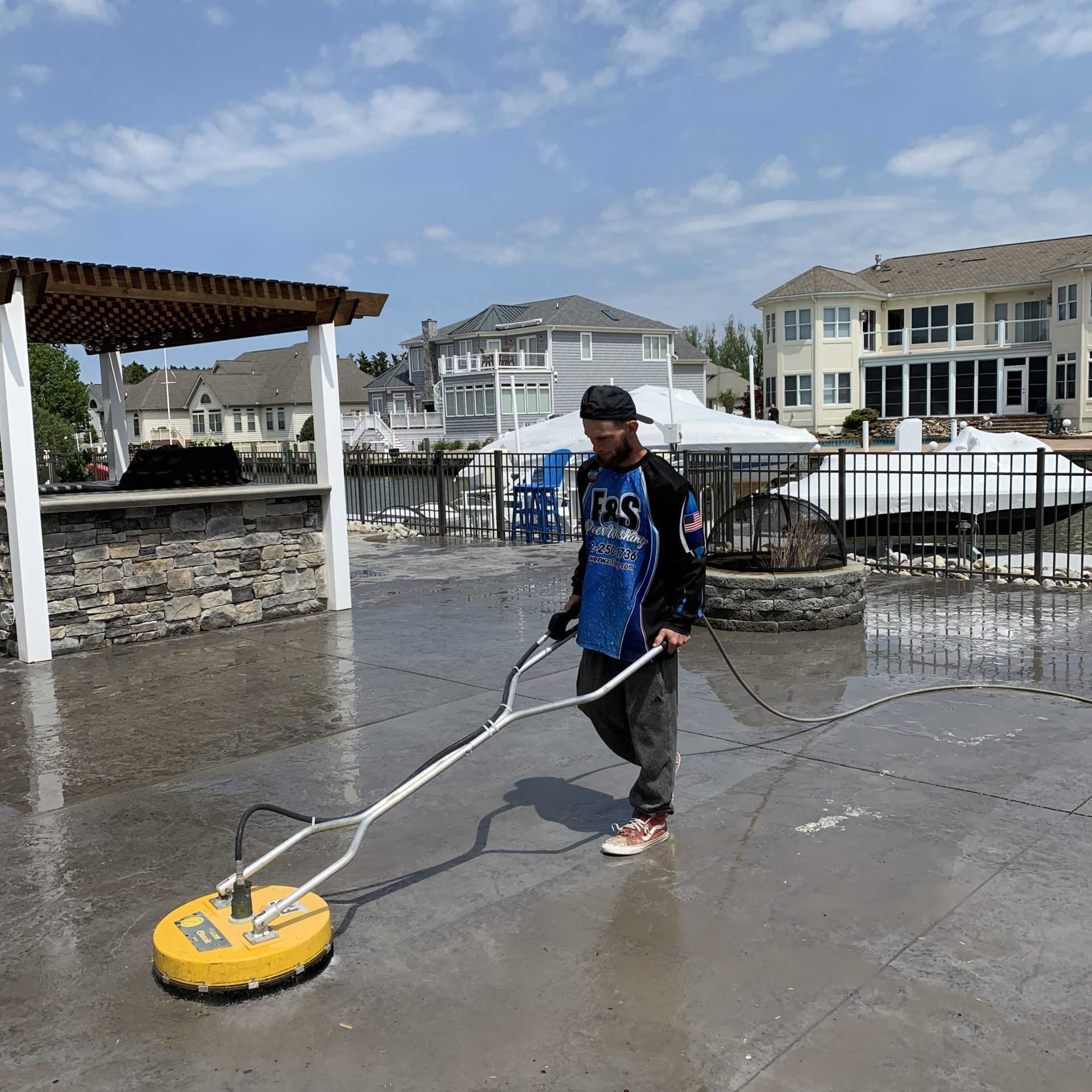 Concrete Power Washing Services